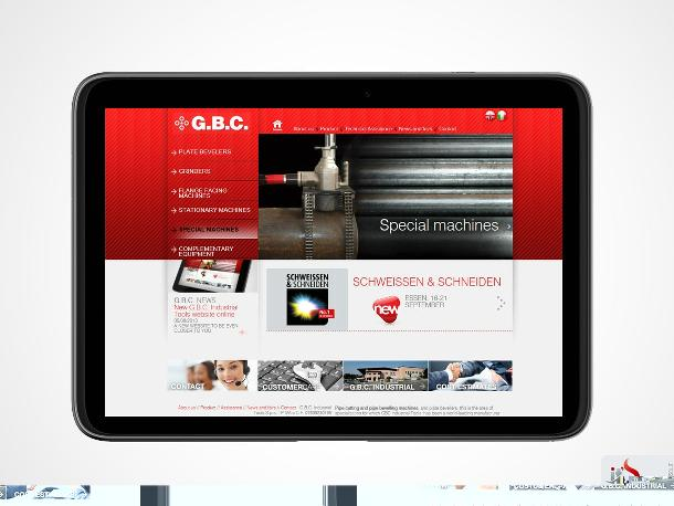 Online il nuovo sito G.B.C. Industrial Tools