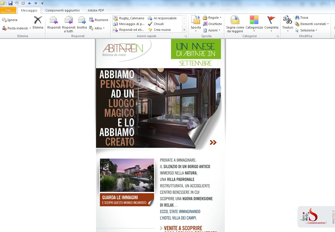 La newsletter di ABITARE IN